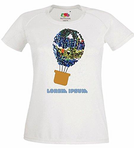 Herren T-Shirt Motiv-300242 Größe 2XL Farbe Weiss Druck