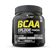 Olimp BCAA Xplode Proszek, Poncz owocowy, 500 g