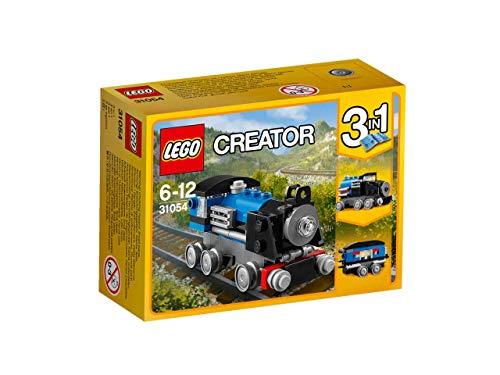LEGO- Creator Locomotiva, Blu, Colore, 31054