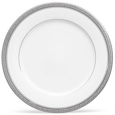 Noritake Crestwood Platinum 6.25-inch Bread and Butter Plate (Set of 4) by Noritake
