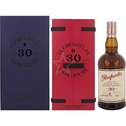 Glenfarclas 30 Years Old Highland Single Malt Scotch Whisky 43,00% 0,70 Liter