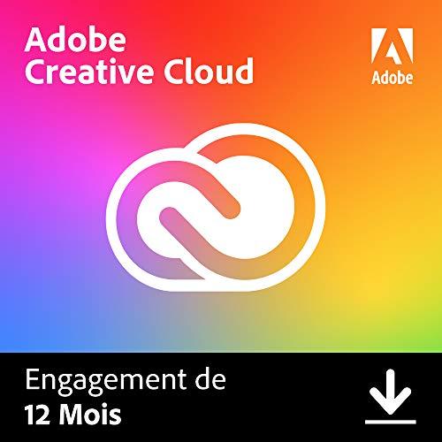 Adobe Creative Cloud All Apps | 1 an | PC/Mac | Téléchargement