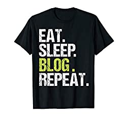 essential items for bloggers who work from home  - home t-shirt
