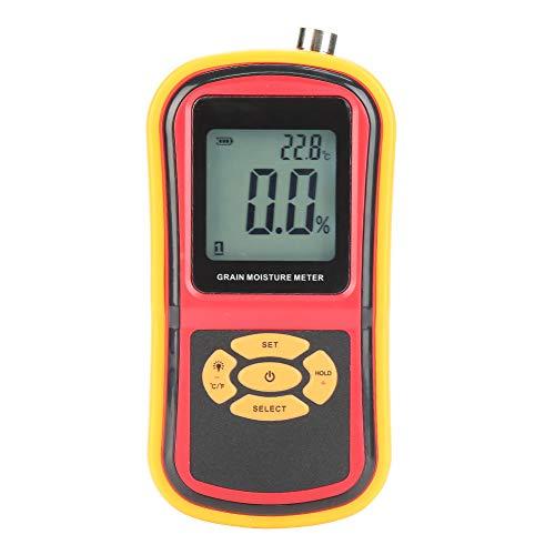 Moisture Meter, GM640 Digital Grain Moisture Meter for Wheat Rice Corn Bean Rice Bean