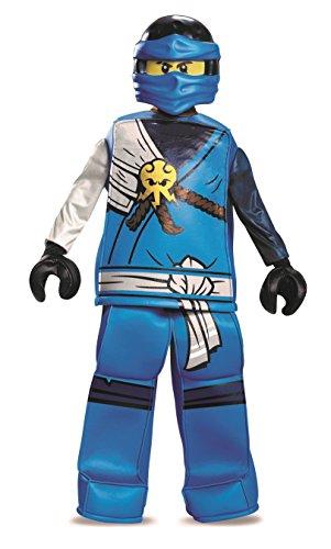 LEGO Costume pour Enfants Ninjago Jay, Taille S, 4-6 Ans, Hauteur 122-126 cm