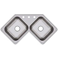 Elkay DE217323 Dayton - Sink for corner base cabinet