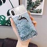SHRHSJSJK Dynamic Liquid Quicksand Phone Case For Samsung