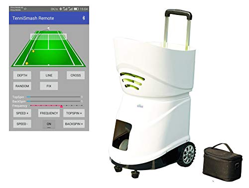 easyday Automatic Portable Tennis Ball Machine with Android APP Remote Control (Model: ED06S)