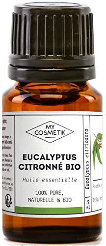 Aceite esencial de eucalipto citrico orgánico - MyCosmetik - 10 ml