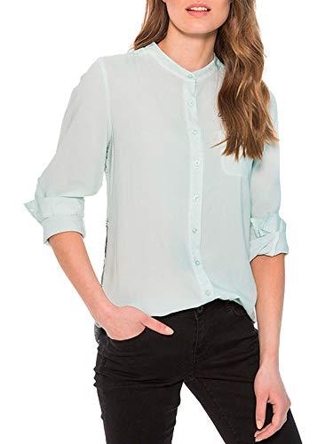SOCCX Damen Bluse Oil Dyed