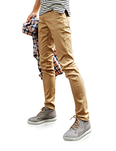 Demon&Hunter 910X Slim-Fit Series Men's Stretch Casual Pants DH9103(30)