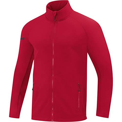 JAKO Kinder Softshelljacke Team Softshell-jacken, Chili rot, 140