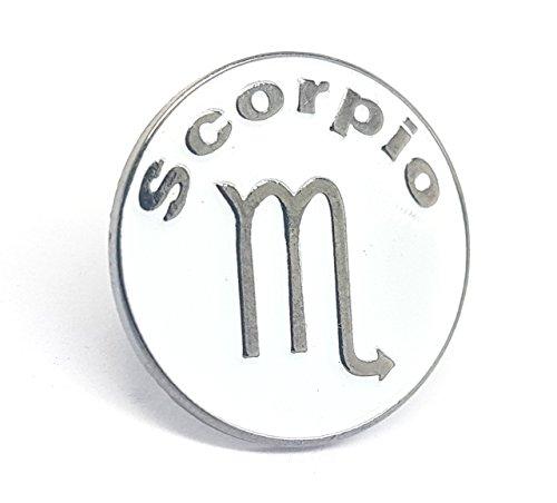 Shopiyal Pin de Estrella de cumpleaños con Signos del Zodiaco astrológico Planeta horóscopo astrología Personalidad Pin Regalo