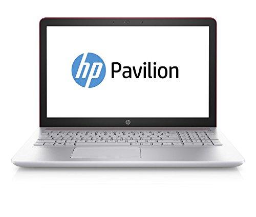 HP Pavilion 15-cc005ng 2.40GHz i3-7100U 15.6' 1920 x 1080Pixel Argento, Rosso Computer portatile