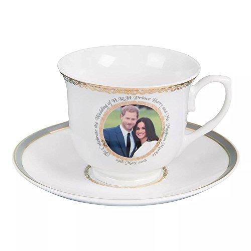 Mariage Royal NEUF en porcelaine fine Tasse et soucoupe