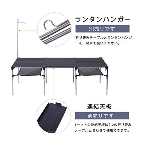 MoonLenceキャンプテーブルアルミロールテーブルアウトドアハイキングBBQ折りたたみ式コンパクト超軽量