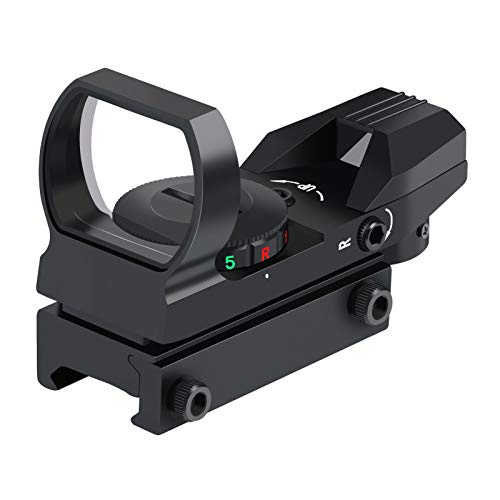 OTW Reflex Sight Field Sport Red and Green Reflex Sight with 4 Reticles