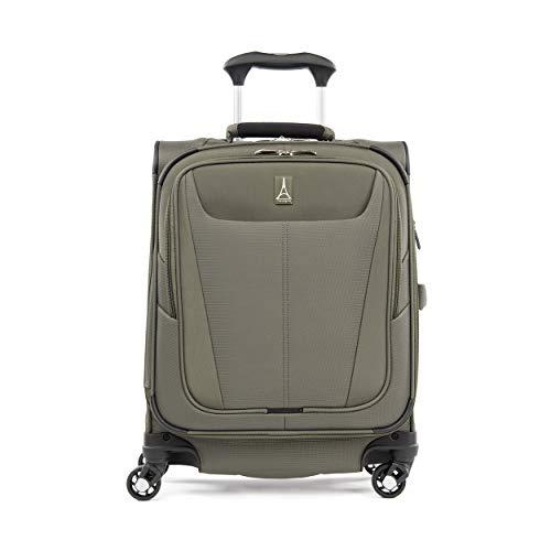 Travelpro Maxlite 5 Handgepäck Weichgepäck Spinner Koffer 4 Rollen 55x40x20 cm Erweiterbar und Langlebig 39 Liter Polyester Reisegepäck 5 Jahre Garantie