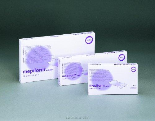 SC293299BX - Mepiform Safetac Self-Adherent Soft Silicone Dressing 2 x 3