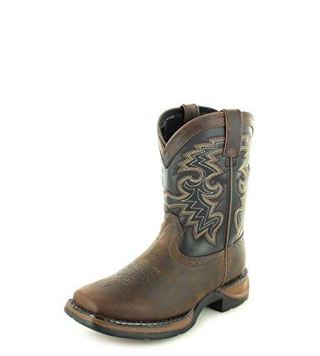 Durango Baby DWBT049 Western Boot, tan Black, 10 M US Toddler