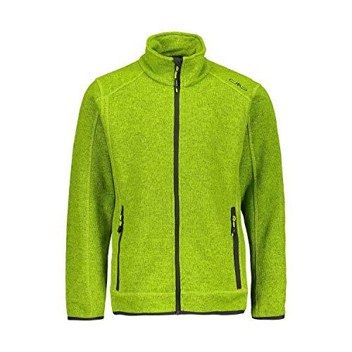 CMP Jungen Fleecejacke Knitted Jacket 3H60744 Limegreen 98