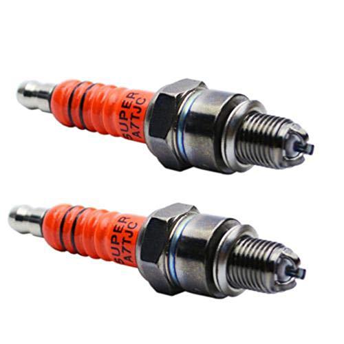 2PZ Candela 3 elettrodi candela A7TC triplo elettrodo ad alte prestazioni sostituire per C7HA C7HSA