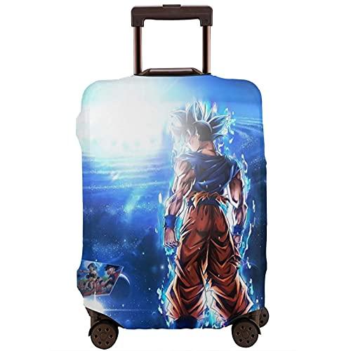 Anime Son Goku Maleta Protector Funda Lavable Diseño 3D Impresión 4 Tamaños para la mayoría de Equipaje Bolsa Protectora Cremallera