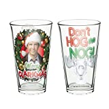 Zak Designs SWRD-R196 Pint Glass Tumblers 16 oz. Capacity, Set of 2, 16oz 2 Piece, Star Wars Ep4