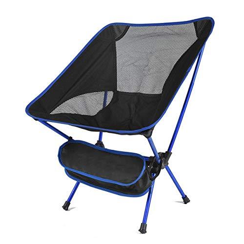 Sillas Plegables para Acampar al Aire Libre de Color Beige Premium Daddy Muebles ultraligeros de Gardren Silla Relajante Suministros de Pesca con Bolsillo - sin Bolsillo A1