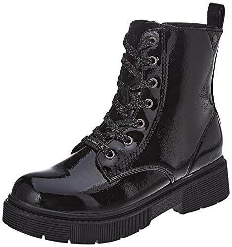 Dockers by Gerli 47MR704 Mode-Stiefel, schwarz, 35 EU