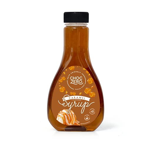 ChocZero's Caramel Sugar-Free Syrup. Low Carb