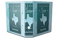 バインダー 2 Ring Binder Lever Arch Folder A4 printed Texas America