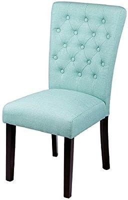 Amazon.com: Modernas sillas de comedor con diseño de rayas ...
