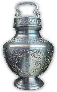 brass cat urn