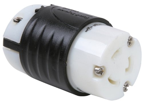 Legrand-Pass & Seymour L620CCCV3 Industrial Specification Grade Turn Lock Connector 20-Amp 250-volt Two Pole 3 Wire