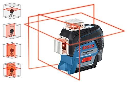 Bosch Professional Linienlaser GLL 3-80 C & Empfänger Set - 2