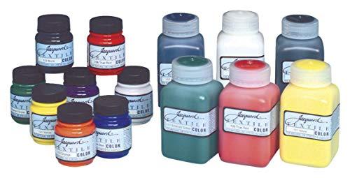 Jacquard Products Textil Color Tela Pintura 2.25oz Primaria y Secundaria Colores, acrílico, Multicolor ✅