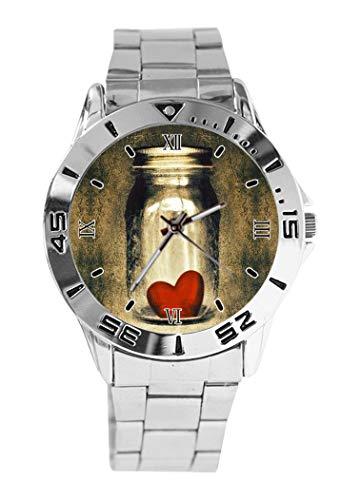 Reloj de Pulsera analógico con diseño de Versos Cristianos, de Cuarz