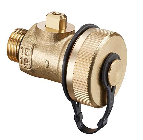 Oventrop - Juego de conexión 1 F+E Válvula de bola G 1/4 pulgadas