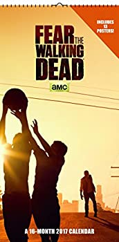 Trends International 2017 Mini Poster Calendar September 2016 - December 2017 6  x 12  Fear The Walking Dead