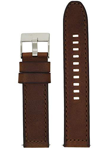 Diesel Correa de reloj intercambiable LB-DZ1890, de piel, 22 mm, color marrón