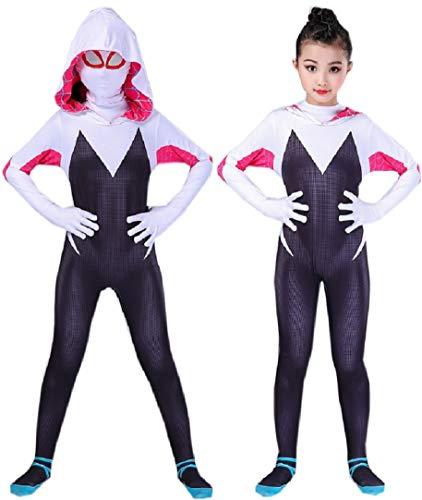 RELILOLI Spider Into The Spiderverse Costume (Kids-7.8T)