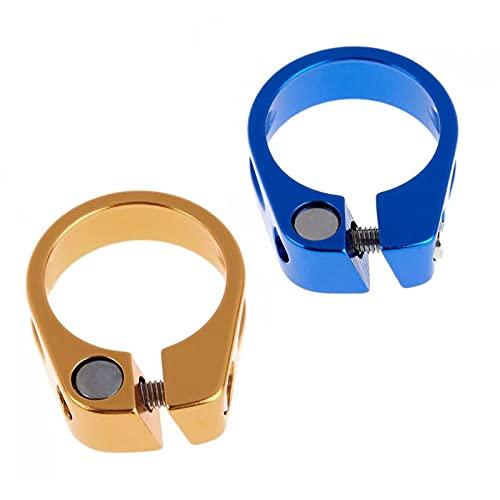 JSSEVN 2 Piezas Abrazaderas para SillíN De De Abrazadera De Durable Metal Los 4 5x3 6x1.3cm