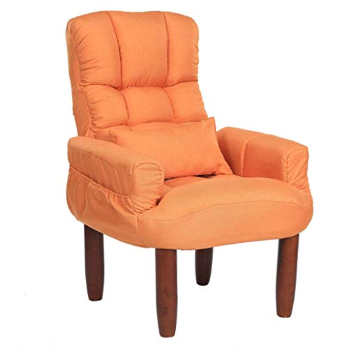 GYBYB Chair Foldable Lazy Sofa Deck Chair Balcony Lounge Sofa Chair Armchair Dining Chair Patio Garden Chair Sun Lounger Couch Side Chair Guest Chair Dressing Table Computer Chair Feeding Chair