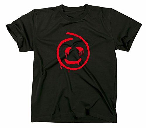 The Mentalist Fanshirt T-Shirt, Red John, TV Serie, schwarz, XL
