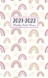 2021-2022 Monthly Pocket Planner: happy rainbows | 2-Year Small Size Calendar - 24 Months Yearly Planner Monthly Calendar, Agenda Schedule Organizer and Appointment Notebook with Federal Holidays