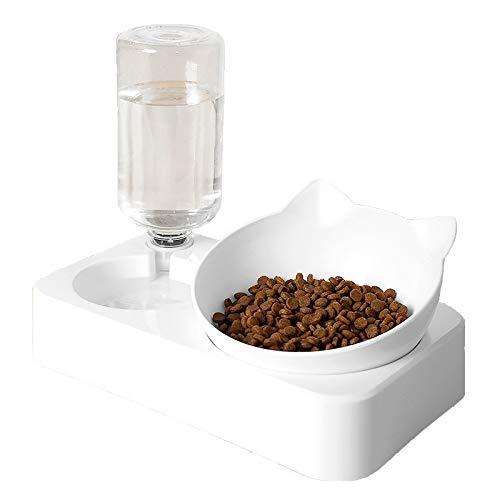 Skdayy Alimentatore di Gatti Pet Cat Bowl Robot Water Water...