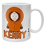Empire Merchandising 686824 South Park Kenny cermica Taza de tamao, dimetro 8,5 Horas 9,5 cm