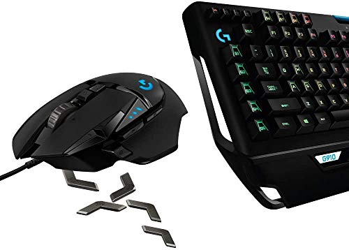 Logicool G ゲーミングマウス/ゲーミングキーボード セット G502RGBhr + G910r