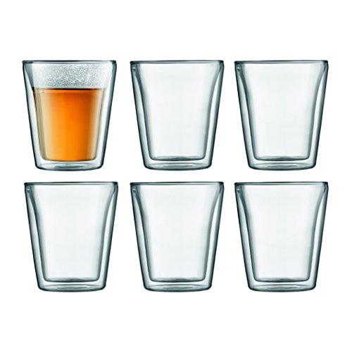 Bodum CANTEEN Gläser-Set (Doppelwandig, 0,2 liters) transparent